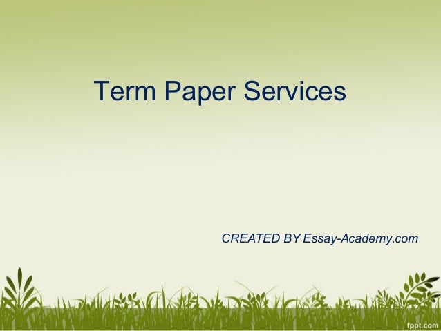 Share Term Papers