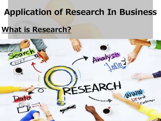 Business research application