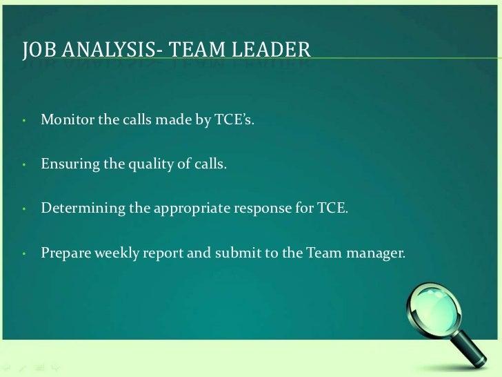 qualities of team leader in bpo