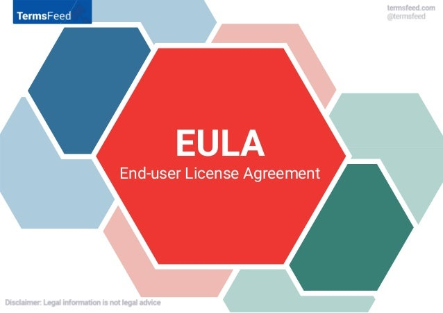 EULAEULA End-user License Agreement