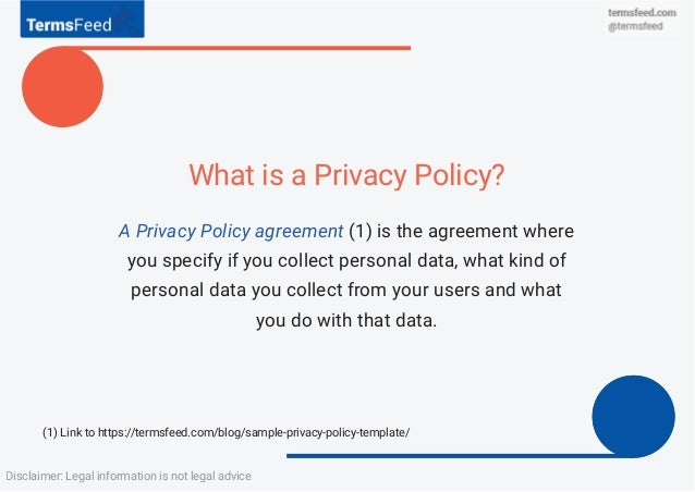 Review Privacy Policy Before You Sell Business - Privacy disclaimer template