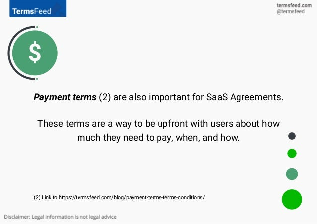 Saas Agreement For Start Ups