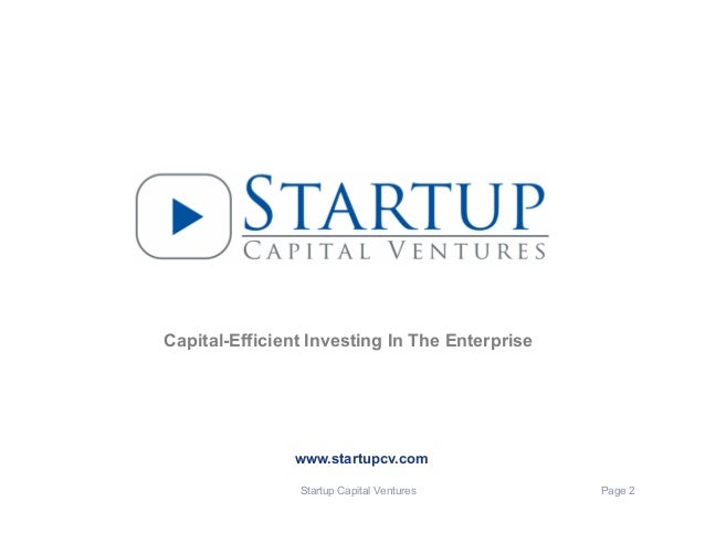 Venture Capital Term Sheets:  The Good, The Bad & The Ugly Slide 2