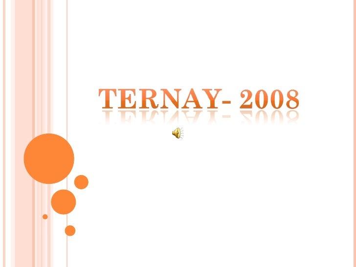 Ternay 2008 Slide 1