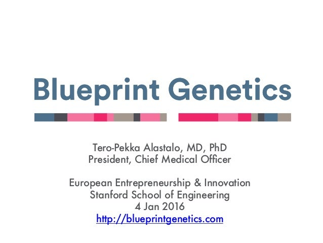 Tero-Pekka Alastalo, MD, PhD President, Chief Medical Officer  European Entrepreneurship & Innovation Stanford School of En...