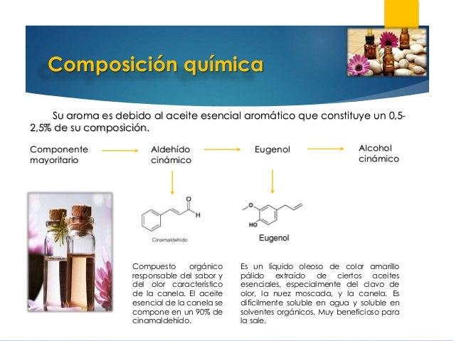 Terpenos y canela for Formula quimica del aceite de cocina