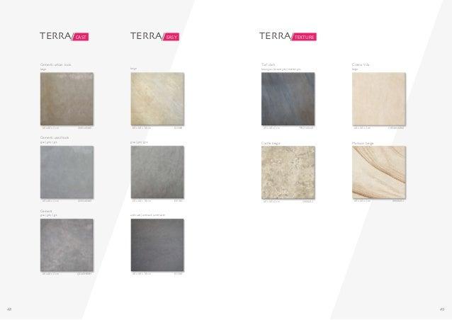 48 49 60 x 60 x 2 cm CE05-60X60 Cementi urban look beige 60 x 60 x 2 cm CE04-60X60 Cementi used look grau | grey | gris 60...
