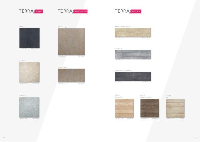 50 51 TERRA/ CASA MS25-60x60 Sand beige 60 x 60 x 2 cm TF037S-60X60N negro 60 x 60 x 2 cm MS15-60x60 Bluestone 60 x 60 x 2...