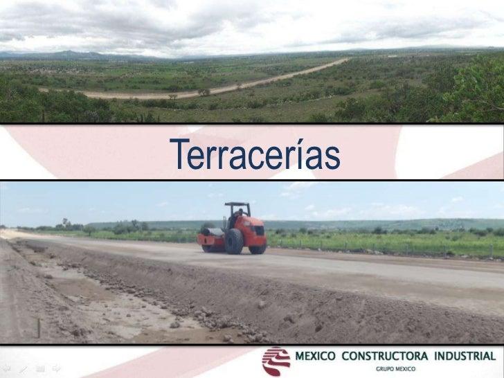 Terracerías