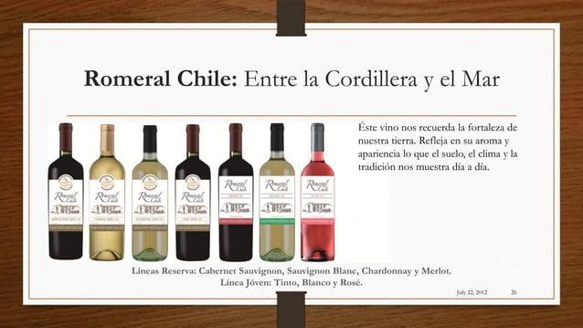 Romeral Chile: Entre la Cordillera y el Mar                                                       Éste vino nos recuerda l...
