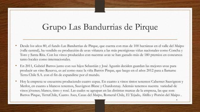 Grupo Las Bandurrias de Pirque• Desde los años 80, el fundo Las Bandurrias de Pirque, que cuenta con mas de 100 hectáreas ...