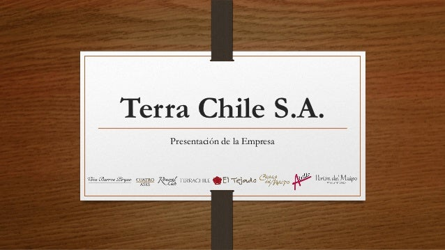 Terra Chile S.A.   Presentación de la Empresa