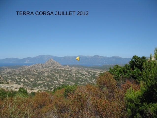 TERRA CORSA JUILLET 2012