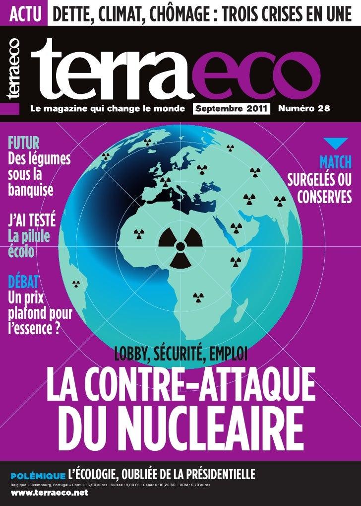 actu Dette, climat, chômage : trois crises en uneFuturDes légumes                                                         ...
