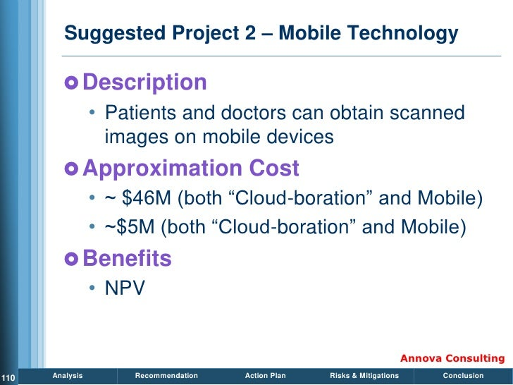 Suggested Project 2 – Mobile Technology           Description                  • Patients and doctors can obtain scanned ...