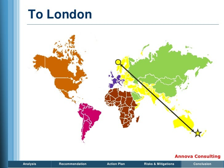 To London                                                                     Annova Consulting Analysis   Recommendation ...