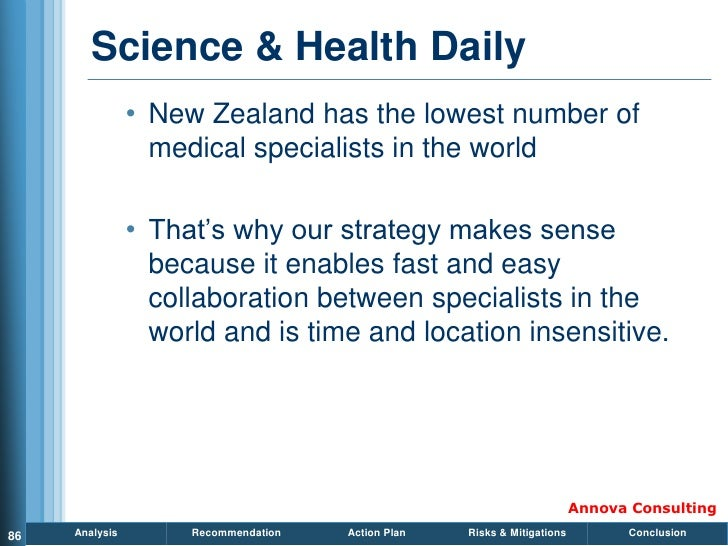 Science & Health Daily                 • New Zealand has the lowest number of                   medical specialists in the...