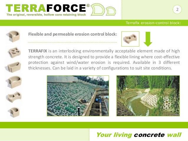 Terraforce Terrafix Erosion Control Block