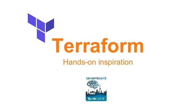 Terraform Hands-on inspiration