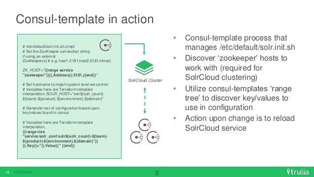 Terraform immutablish infrastructure with consul template for Consul external service