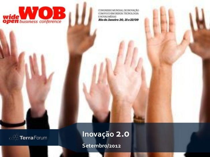Inovação 2.0Setembro/2012