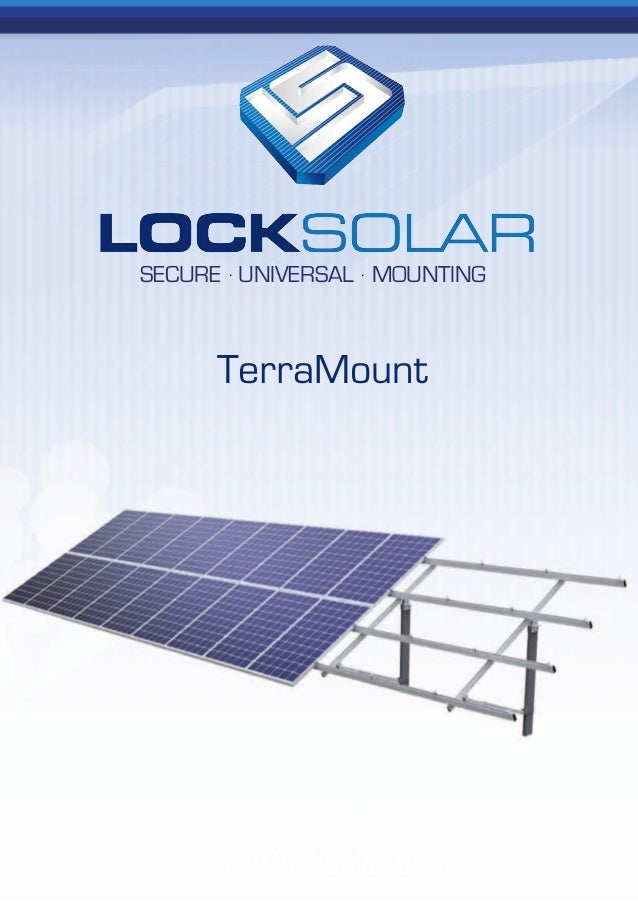 Lock Solar Ground Mount Racking Brochure