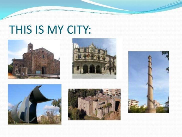 THIS IS MY CITY: