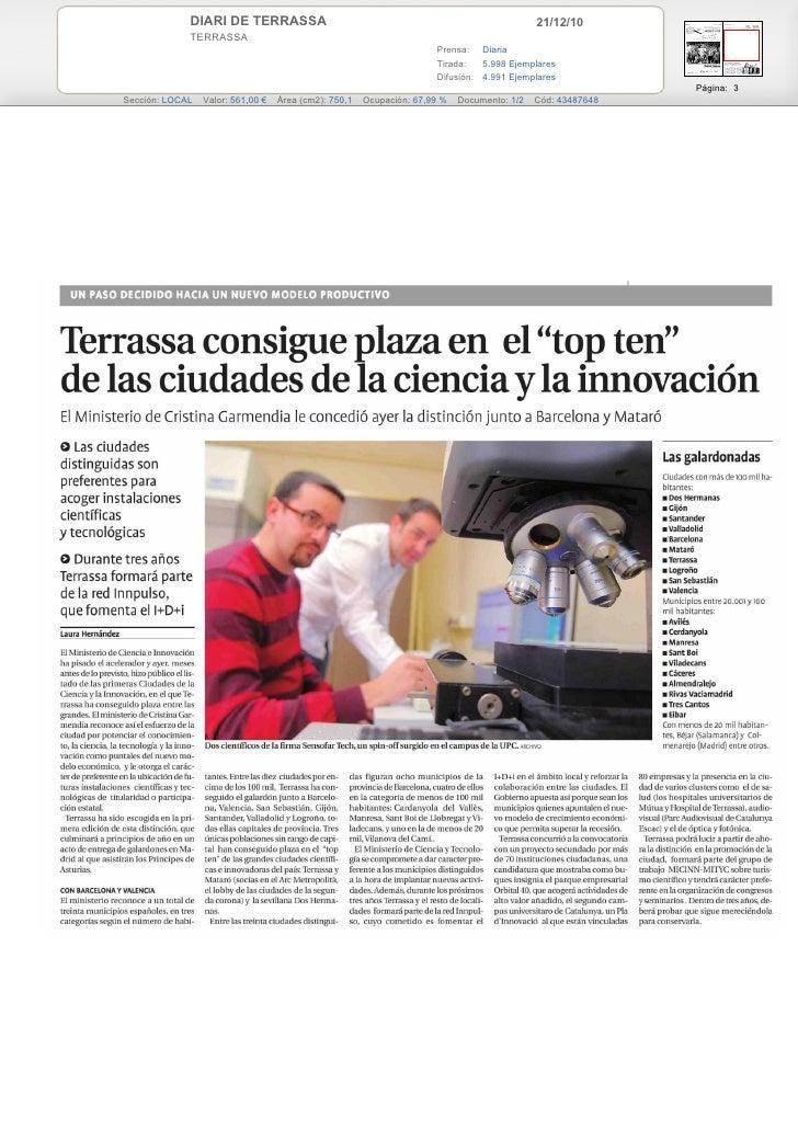 DIARI DE TERRASSA                                                               21/12/10             TERRASSA             ...