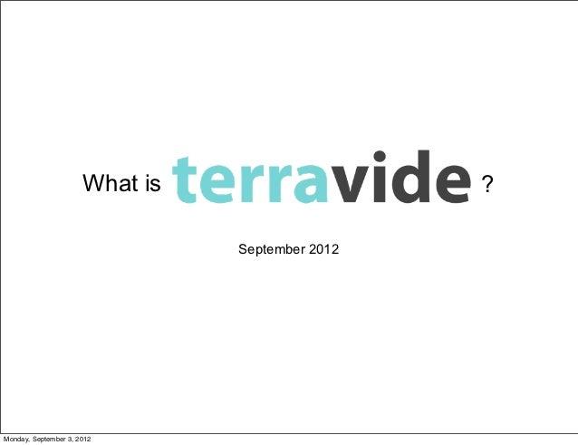 What is                    ?                                September 2012Monday, September 3, 2012