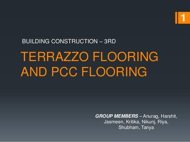Terrazzo Flooring And Pcc Flooring