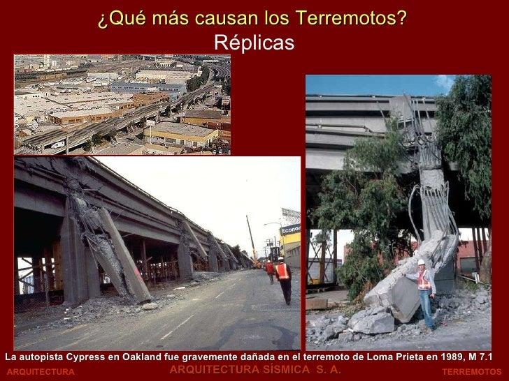 Réplicas La autopista Cypress en Oakland fue gravemente dañada en el terremoto de Loma Prieta en 1989, M 7.1 TERREMOTOS AR...