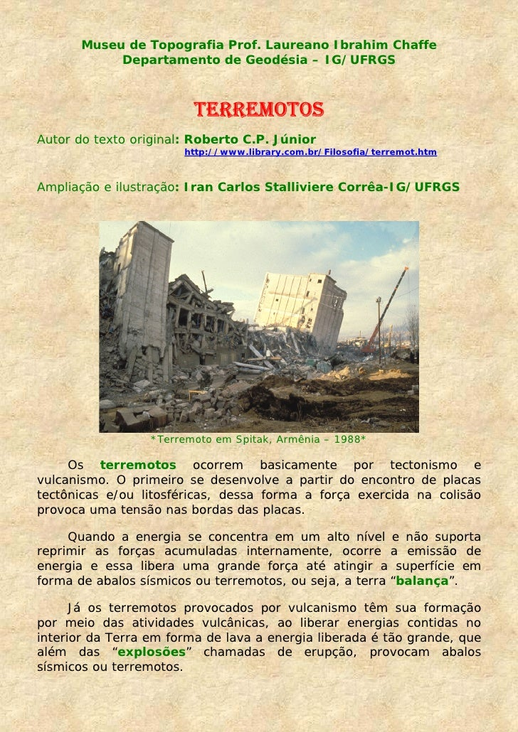 Museu de Topografia Prof. Laureano Ibrahim Chaffe             Departamento de Geodésia – IG/UFRGS                         ...
