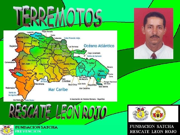 TERREMOTOS RESCATE  LEON ROJO