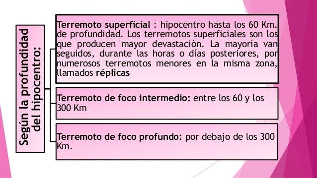 Terremotos diapositivas