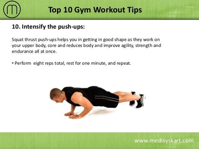 8 Medisyskart Top 10 Gym Workout Tips