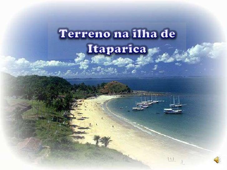 Terreno na ilha de Itaparica<br />