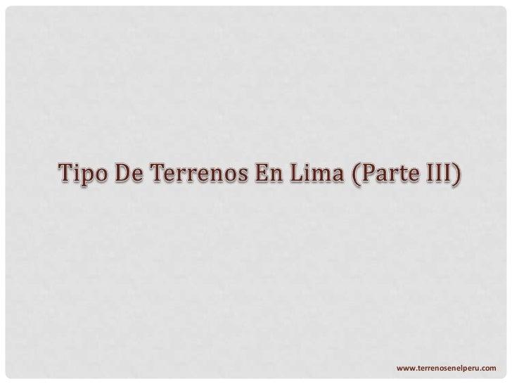 www.terrenosenelperu.com