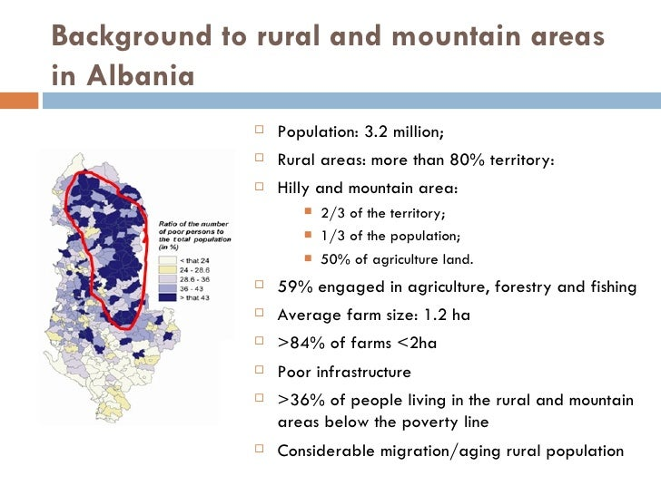 Territorial Development In Albania Experience Of The