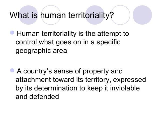 Territorial morphology key 2014