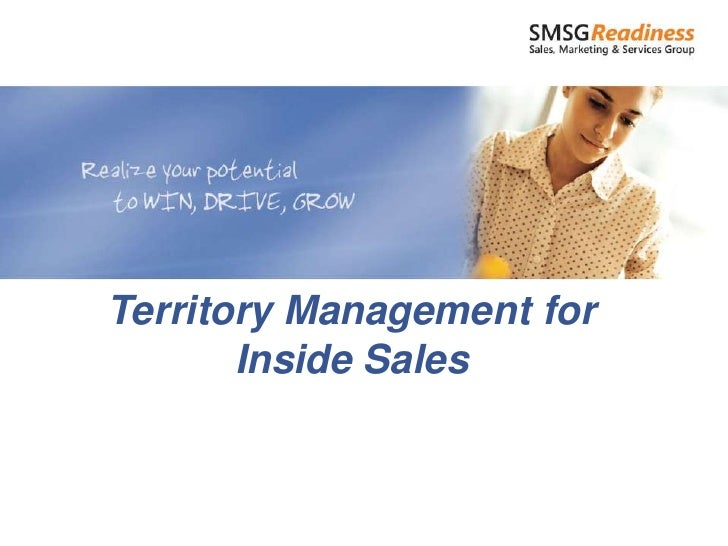 Territory Management for       Inside Sales