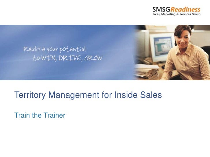 Territory Management for Inside SalesTrain the Trainer