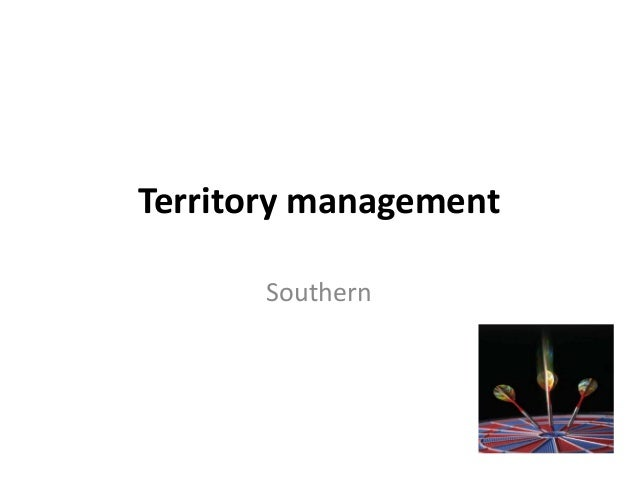 Territory management  Southern