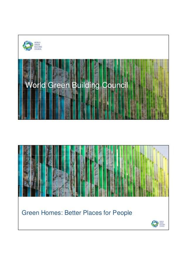 Ms Terri Wills Presentation On World Green Building Council