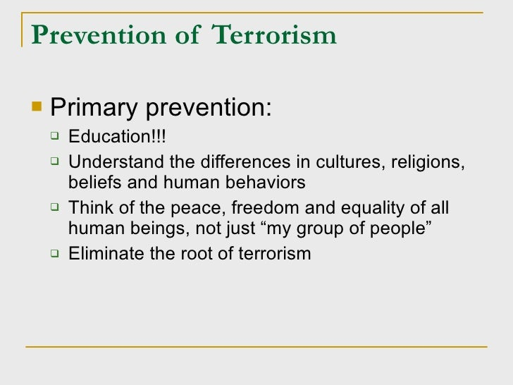 terrorism happens because short essay Free essays on terrorism happens because in a very very easy words get help with your writing 1 through 30.