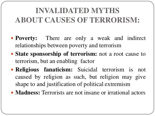 root causes of terrorism essay The lack of understanding the root causes of terrorism is a  an empirical analysis of terrorism in the middle east and africa 8 political analysis of terrorism two.