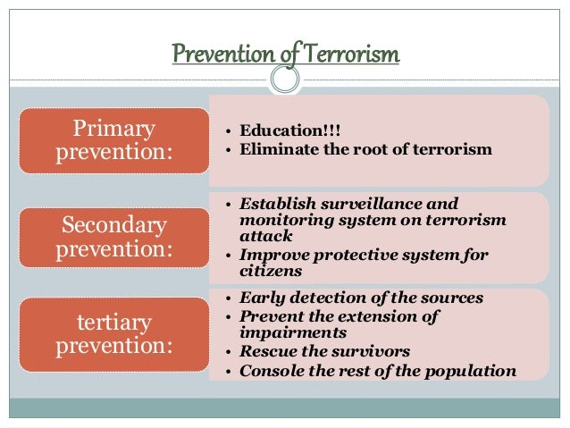 the effects of the patrioct act on the prevention of terrorism 2u ni t e d s tate s a t t or ne ys ' b u l l e t in j ul y 2005 a fuller discussion of those parts of irtpa of greatest interest to federal criminal prosecutors can be found in stephen weglian, compendium of measures of interest to federal terrorism.