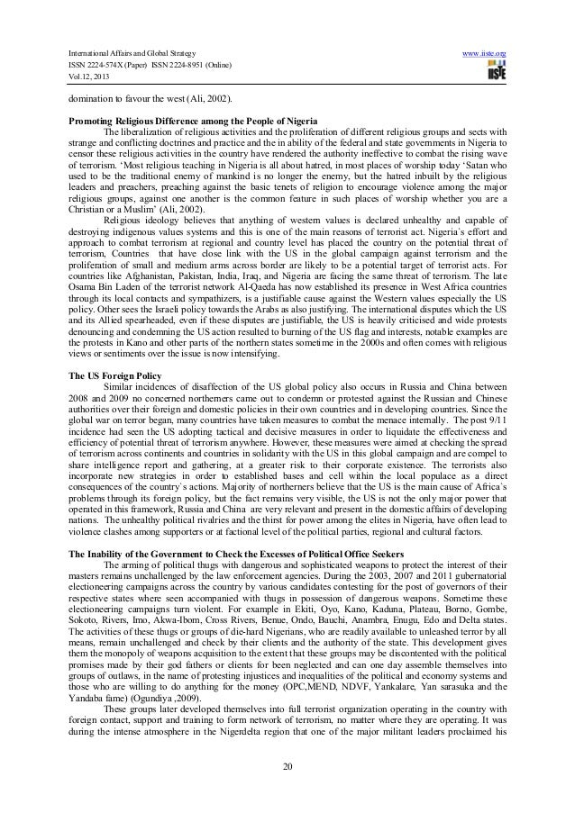 terrorism in the 21st century essay Write a 25 page essay on international business and terrorism in 21st century the incident of 9/11 which is the result of terrorism has changed the base of the present century and brought us to question what effects have itcaused of course there have been numerous of negative and positive outcomes of 9/11 incident related read more about write a 25 page essay on international business and .