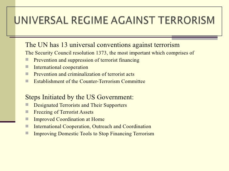 terrorism a global menace essay