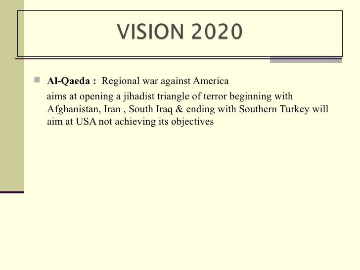 terrorism a global threat The threat from terrorism will remain high and could worsen over the decade  there are now more islamist extremists from more countries active in more  places.