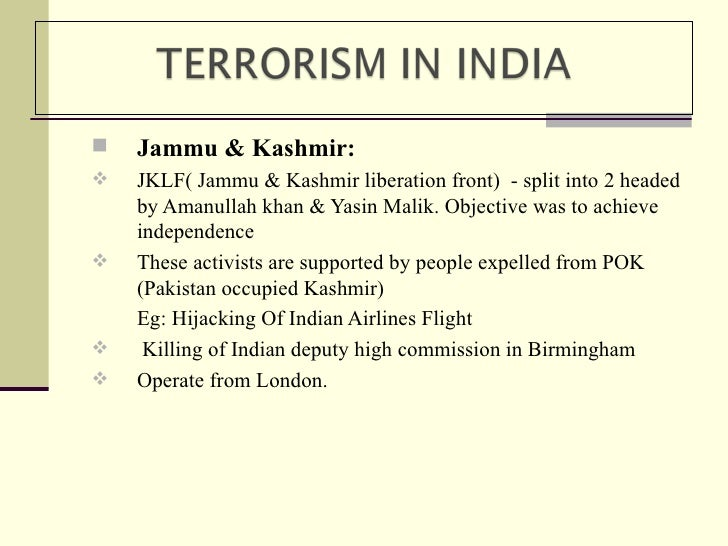 essay on terrorism in pakistan in english